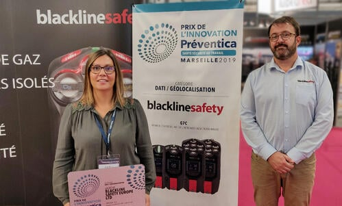 2019-10-08 Blackline Safety Preventica innovation award