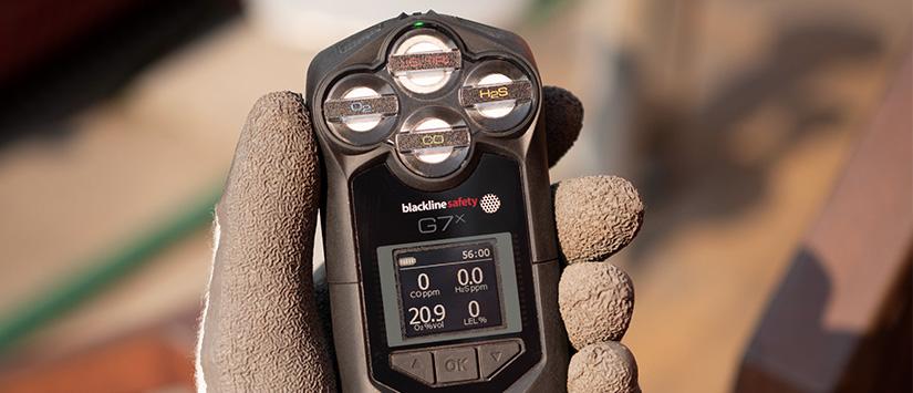 Blackline Safety G7x gas detector with satellite communication 825x355 banner