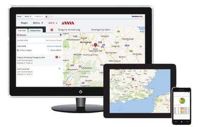Safety monitoring portal
