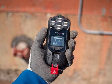 G7c connected gas detector and man down safety device