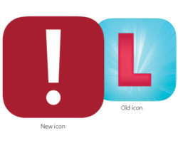 Loner mobile app's new icon.