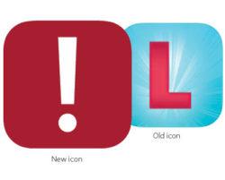 Loner mobile app's new icon.