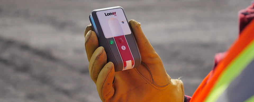 Blackline Safety Loner M6 lone worker safety monitoring device