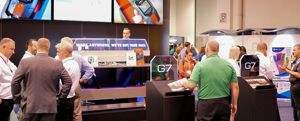 Blackline Safety demonstrated G7 live to NSC Congress and Expo attendees