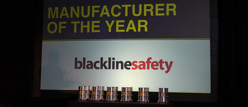 Blackline Safety is Manufacturer of the Year at the Oil & Gas Awards 2018