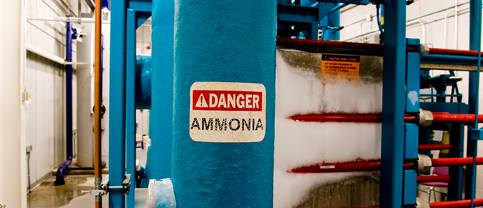 Ammonia gas is used for many industrial processes