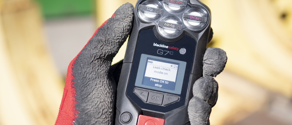 G7 confined space gas monitor also includes user modes