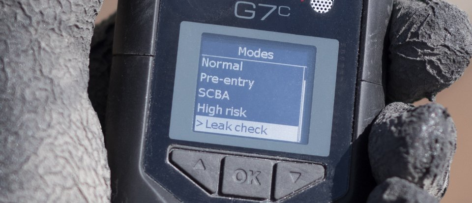 Blackline Safety G7 user modes — confined space gas monitor