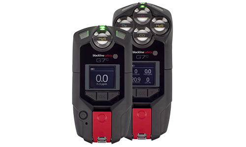 Confined space are monitors G7 personal gas detection