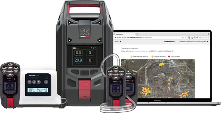 Gas detection devices for oil and gas